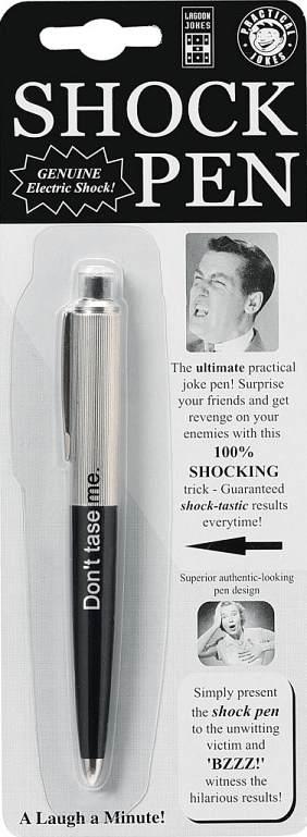 Don't tase me biro.